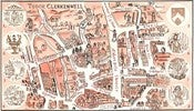 Image of The Map of Clerkenwell Old & New (Limited Edition Print)