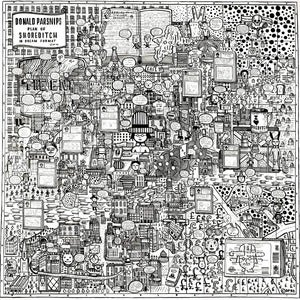 Image of The Map of Shoreditch in Dreams (Limited Edition Print)