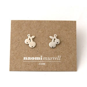 Image of Cherry Studs | Silver {25% OFF + FREE SHIPPING}
