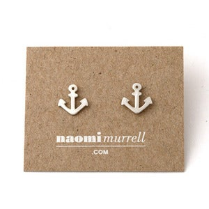 Image of Anchor Studs | Silver