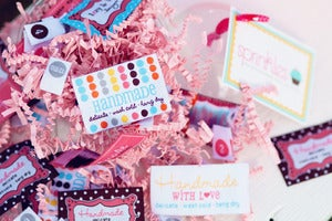 Image of Sprinkles...woven care labels and size tags