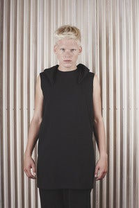 Image of DRKSHDW by RICK OWENS <br> HOODED VEST <br> was 315€
