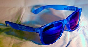 Image of Dead Puppies Sunglasses Blue