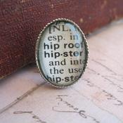 Image of Vintage Dictionary Word Tie Tack