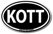 Image of KOTT Oval Sticker
