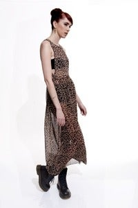 Image of Leopard Maxi Dress