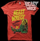 "Image of ""BEASTWRECK ATTACKS!"" Mens shirt"