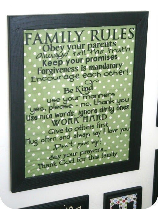 Image of Family Rules
