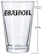 Image of Brainoil Pint Glass