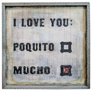 Image of I Love You Mucho by Sugarboo Designs