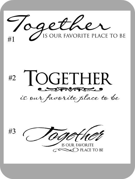 Image of Together... (3 styles)