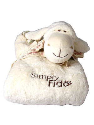 Image of Lolly Lamb Organic Puppy Blanket 