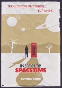 Image of Inspector Spacetime Poster