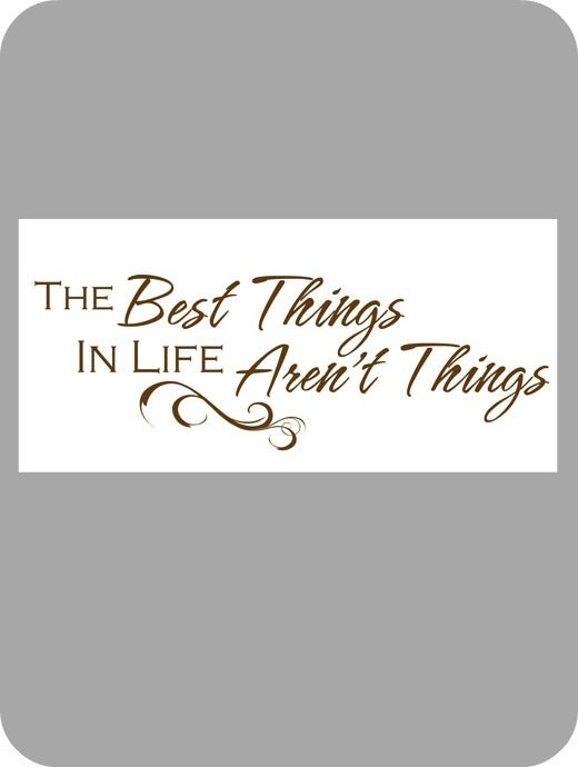 Image of The best things in life...