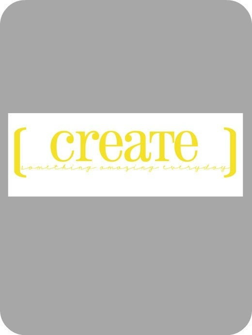 Image of Create something...