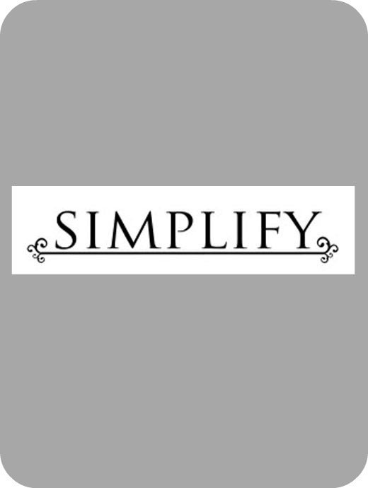 Image of SIMPLIFY (with line)