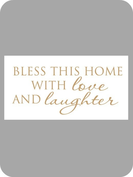 Image of Bless this home with love...