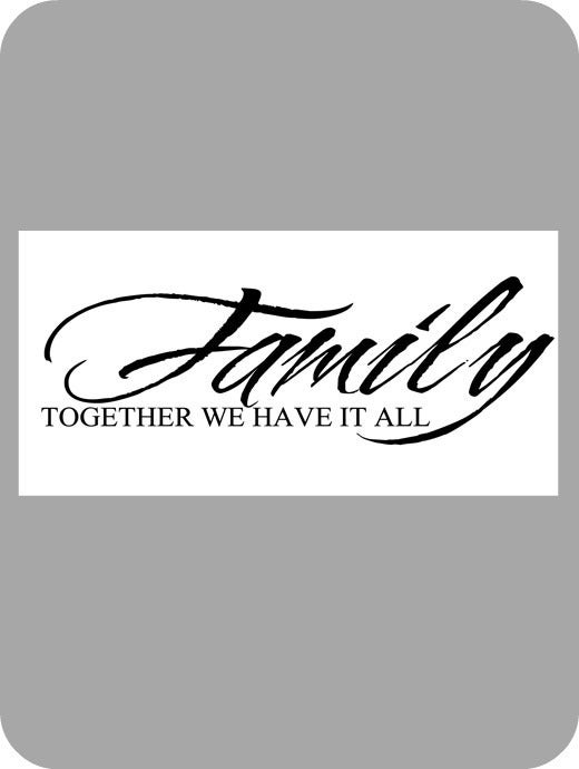 Image of Family, together...