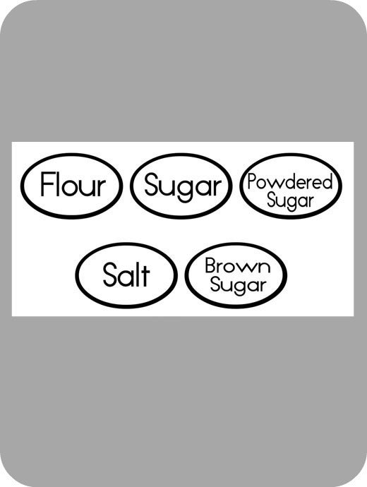 Image of Jar Labels (round)
