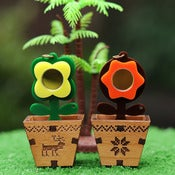Image of Flower Pot Necklace