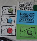 Image of Lantern Linocuts