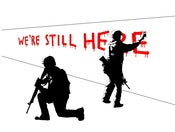Image of We're Still Here - Print