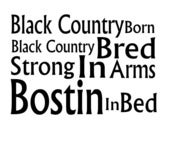 Image of Black Country Born - Bostin in Bed