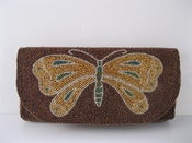 Image of By Order: Bronze and Gold Butterfly Clutch