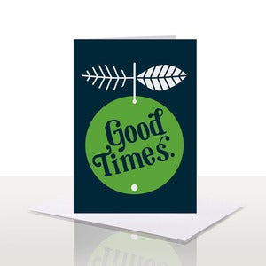 Image of Good Times Note Card