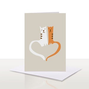 Image of Love Cats Note Card