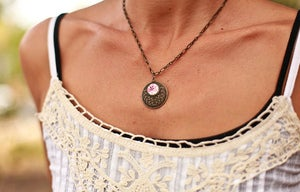 Image of Pink Necklace