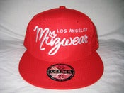 "Image of Müz Wear ""Red on Red"" Fitted"