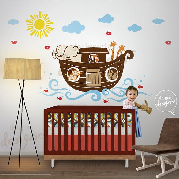 Styling Childrens Wall Decals On Pinterest Nursery Wall Decals Kids Wall Stickers And Animal