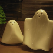 Image of 3 Piece Ghosts Salt &amp; Pepper Gift Set