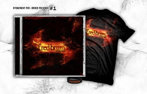 Image of Atonement CD + T-Shirt bundle