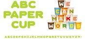 Image of ABC Paper Cups