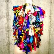Image of THE SWATCH RUFFLE VEST
