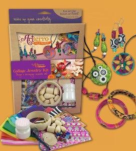 Image of Collage Jewelry Kit