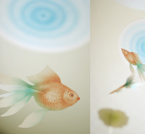 Image of Ttable-Office Floating Fish Mobile