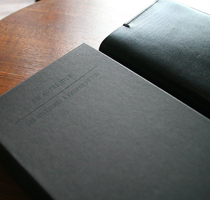 Image of O-Check Leather Diary