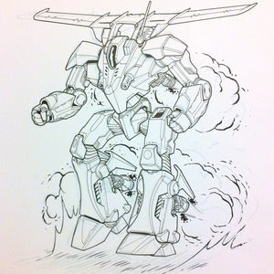 Image of Incubus II original Battletech artwork