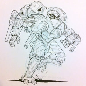 Image of Void Minelayer BA original Battletech artwork