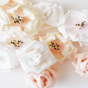 Image of Paper flowers