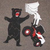 Image of Bear vs Tractor T-shirt