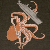 Image of Octopus &amp; Ship T-shirt