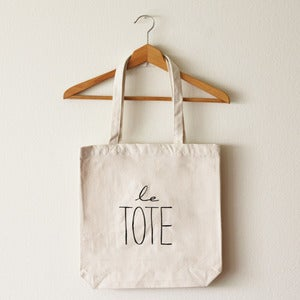 Image of Le Tote Bag (Large)