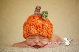 Image of Newborn Pumpkin Beanie