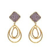 Image of Malorie Earrings - Shagreen