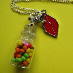 Image of Sweet Lips Charm Necklace 20% OFF!