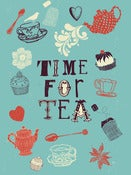 Image of Time for Tea Print - Available in 3 sizes